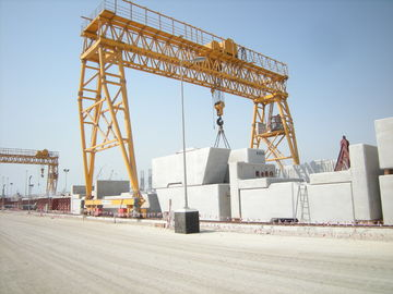 Customised Steel Rail Mounted Gantry Crane 100Ton Span 25m for Container Handling