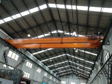 OEM Double Girder Overhead Bridge Cranes With Hydraulic Brake
