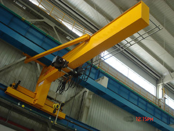 Festoon Systems Wall Travelling Jib Crane Long Life Jib Boom Crane Motorized Rotation